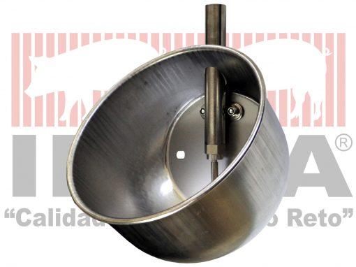 Bebedero circular de 21 cm de diámetro