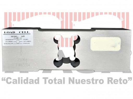 Celda de carga para carros báscula de destete modelo L6W-C3 con capacidad para 250 kg